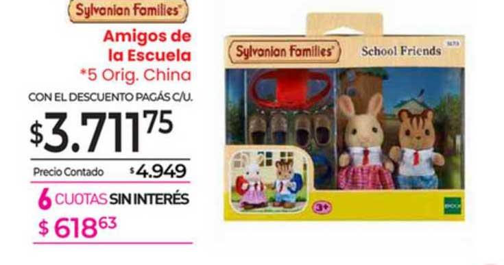 La Anónima Sylvanian Famillies Amigos De Le Escuela