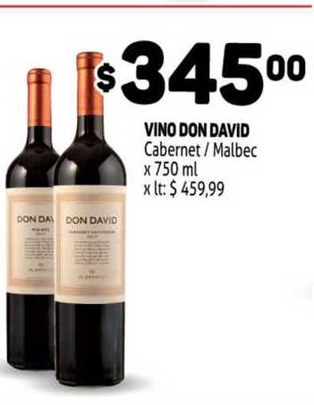 MAKRO Vino Don David Cabernet Malbec