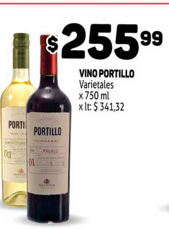 MAKRO Vino Portillo Varietales