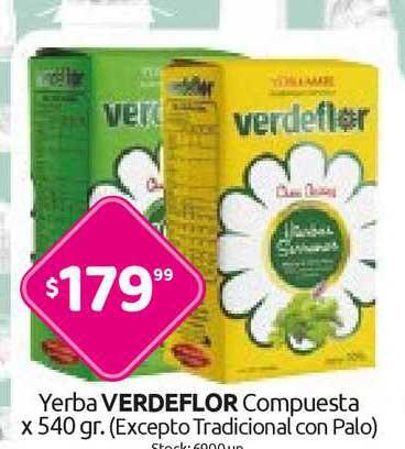 Cordiez Yerba Verdeflor Compuesta