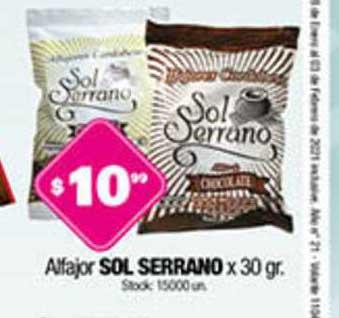 Cordiez Alfajor Sol Serrano