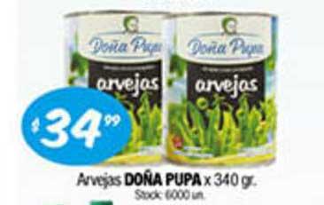 Cordiez Arvejas Doña Pupa