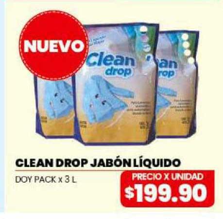 Danisant Clean Drop Jabón Líquido