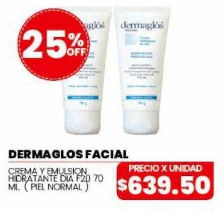 Danisant Dermaglos Facial Crema Y Emulsion Hidratante Dia F20 25% Off