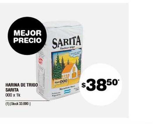 ATOMO Conviene Harina De Trigo Sarita 000