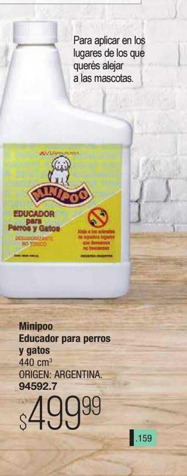 Tsu Cosméticos Minipoo Educador Para Perros Y Gatos