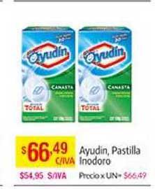 Medamax Ayudin, Pastilla Inodoro