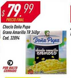 Supermercados Comodin Choclo Doña Pupa Grano Amarillo TR