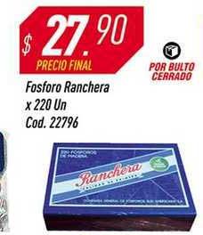 Supermercados Comodin Fosforo Ranchera