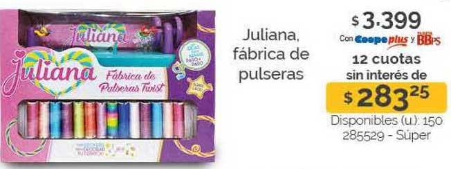 Cooperativa Obrera Juliana Fábrica De Pulseras