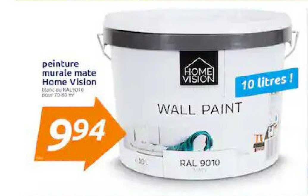 Action Peinture Murale Mate Home Vision