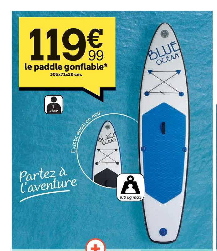 Centrakor Le Paddle Gonflable