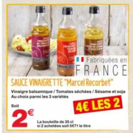 Grand Frais Sauce Vinaigrette Marcel Recorbet