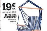 Centrakor Le Fauteuil à Suspendre