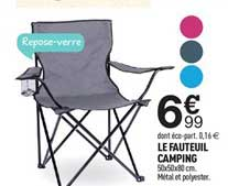Centrakor Le Fauteuil Camping
