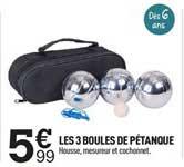 Centrakor Les 3 Boules De Pétanque