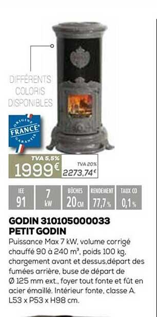 Copra Godin 310105000033 Petit Godin