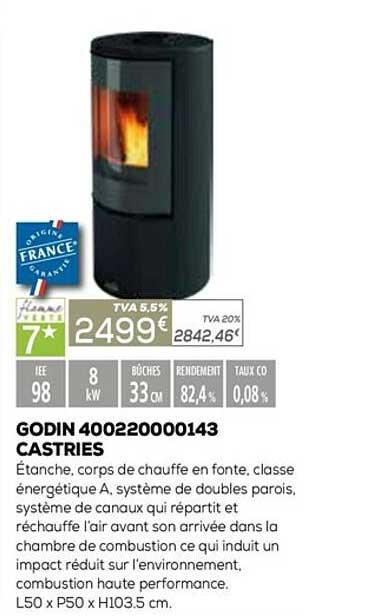 Copra Godin 400220000143 Castries