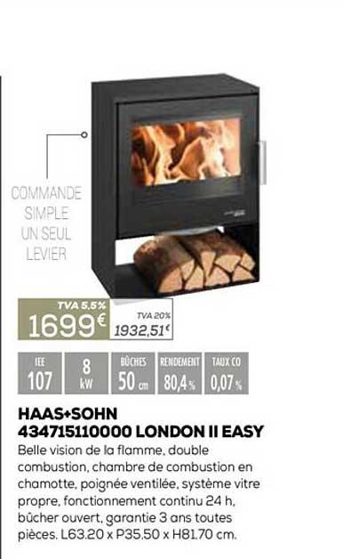 Copra Haas+sohn 434715110000 London Ii Easy