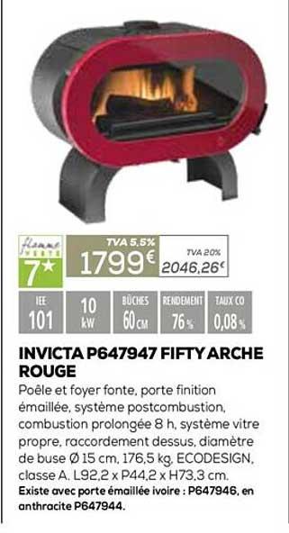 Copra Invicta P647947 Fifty Arche Rouge
