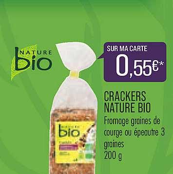 Match Crackers Nature Bio