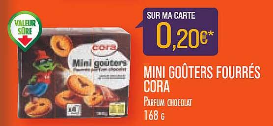 Match Mini Goûters Fourrés Cora