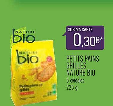 Match Petits Pains Grillés Nature Bio