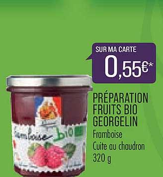 Match Préparation Fruits Bio Georgelin