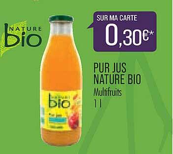 Match Pur Jus Nature Bio