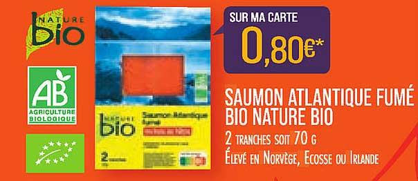 Match Saumon Atlantique Fumé Bio Nature Bio