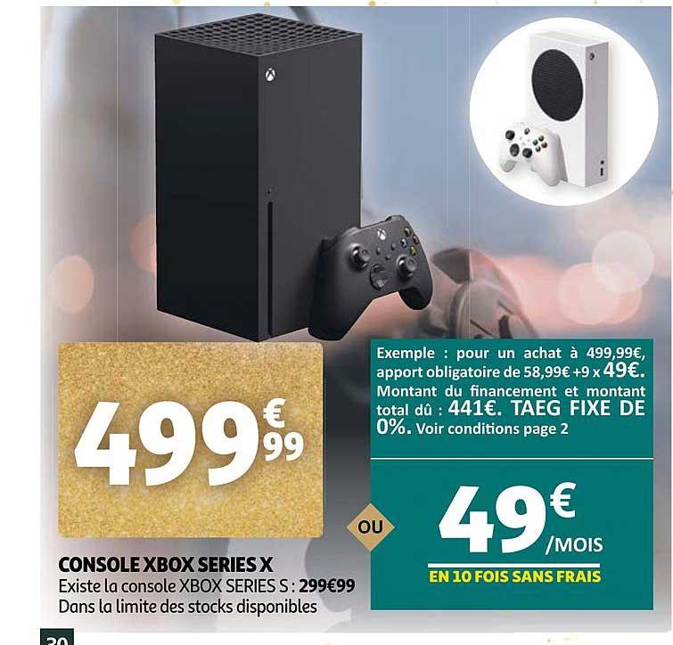 Auchan Console Xbox Series X