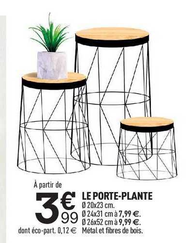 Centrakor Le Porte-plante