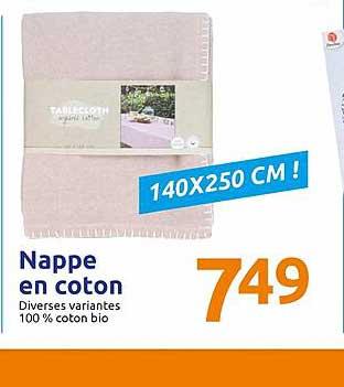 Action Nappe En Coton