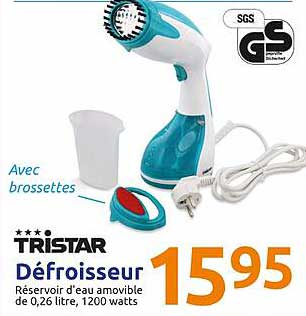 Action Tristar Defroisseur