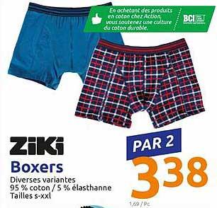 Action Ziki Boxers