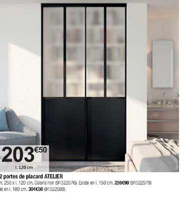 Bricorama 2 Portes De Placard Atelier
