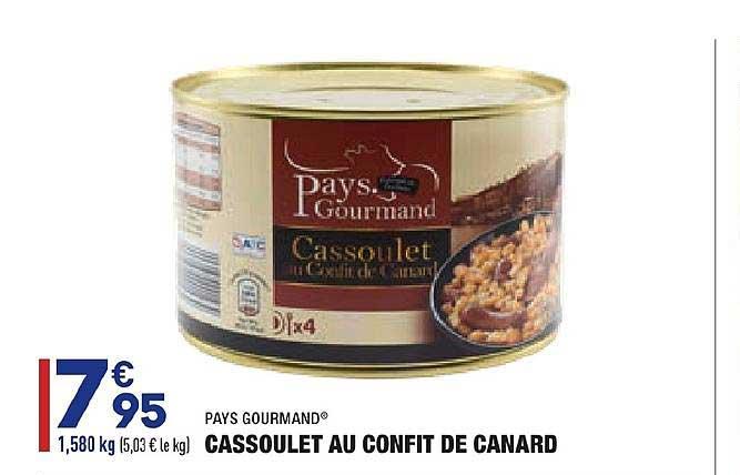 Aldi Cassoulet Au Confit De Canard Pays Gourmand