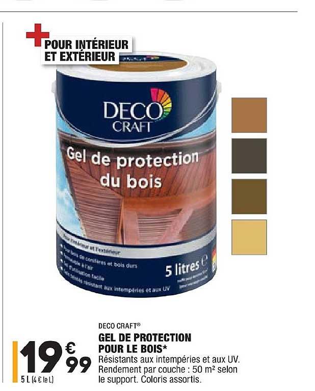 Aldi Gel De Protection Pour Le Bois Deco Craft
