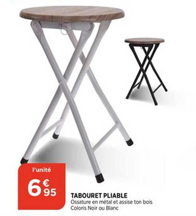 Bi1 Tabouret Pliable