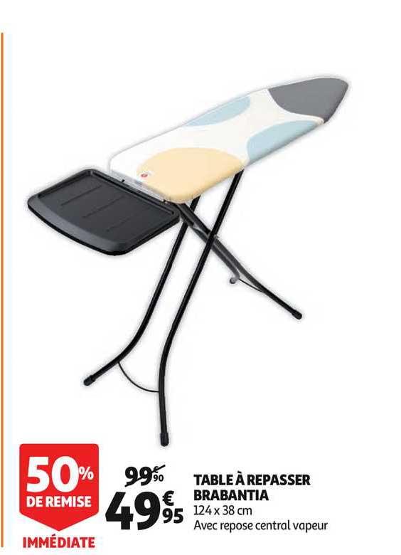 Auchan Direct Table à Repasser Brabantia 50% Remise Immédiate