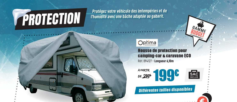 Narbonne Accessoires Optima Housse De Protection Pour Camping Car & Caravane Eco