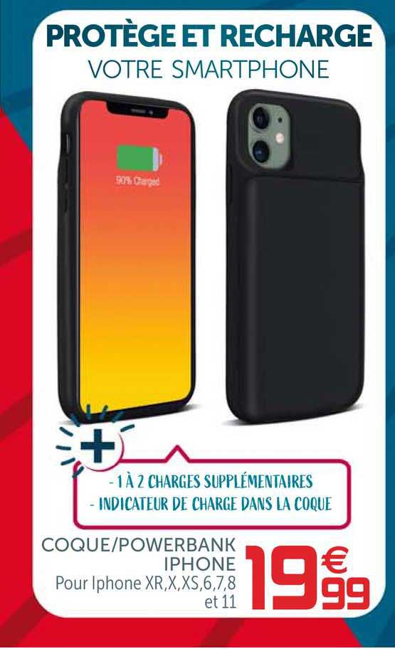 Offre Coque - Powerbank Iphone chez GiFi