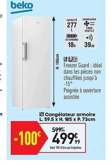 Conforama Congélateur Armoire
