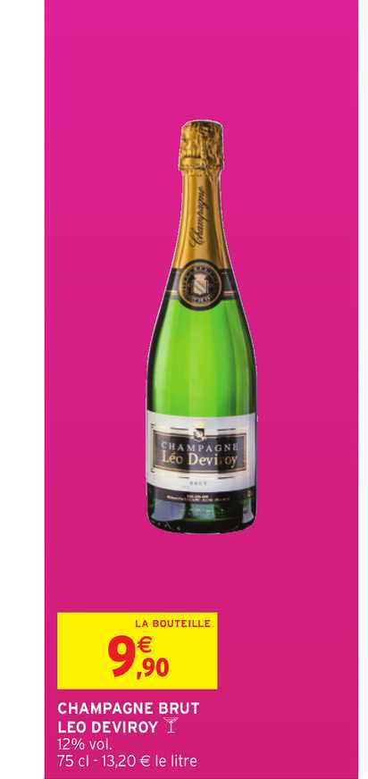 Intermarché Champagne Brut Leo Deviroy