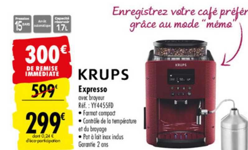 Carrefour Expresso Krups