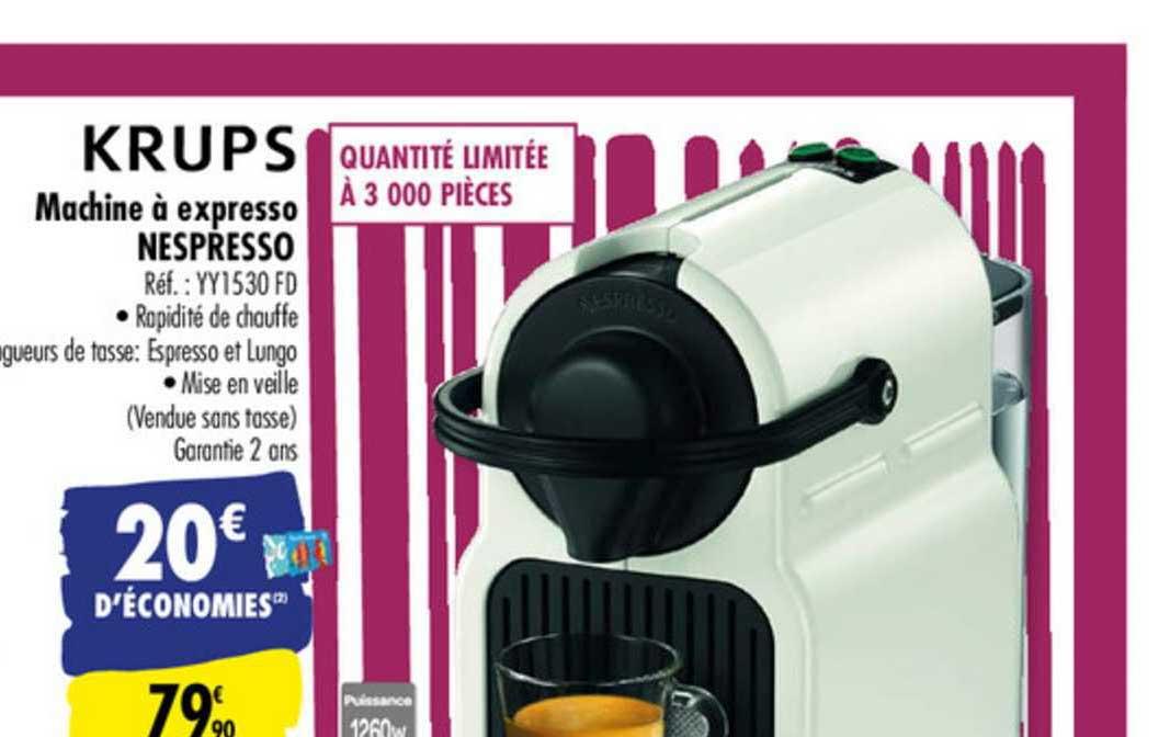 Carrefour Machine à Expresso Nespresso Krups