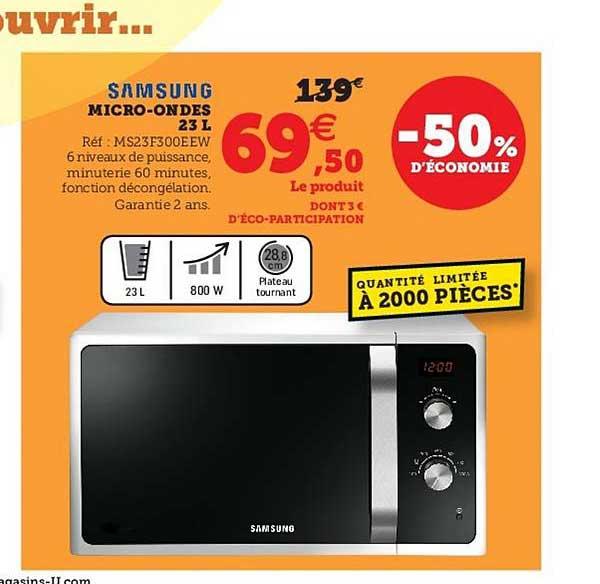 Super U Micro-ondes Samsung