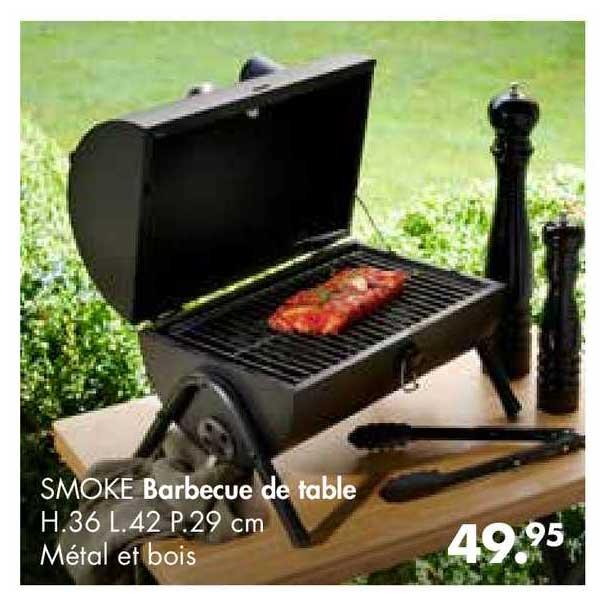 Casa Barbecue De Table Smoke