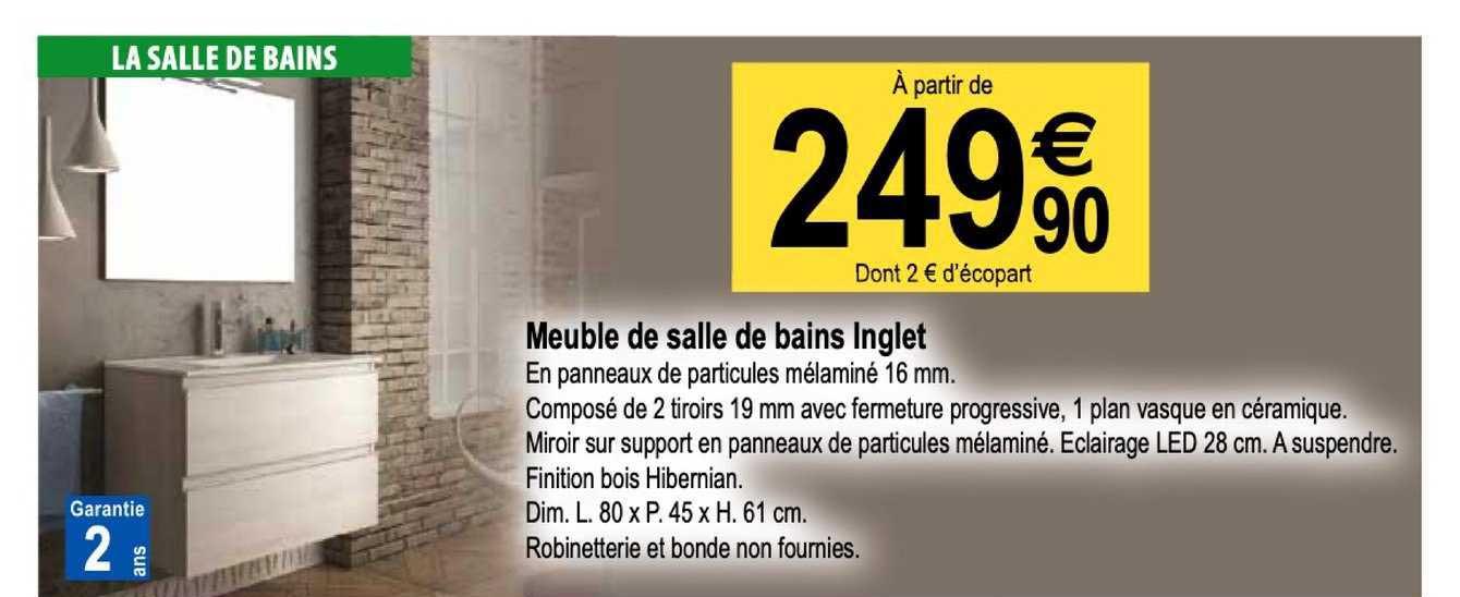 Tridôme Meuble De Salle De Bains Inglet