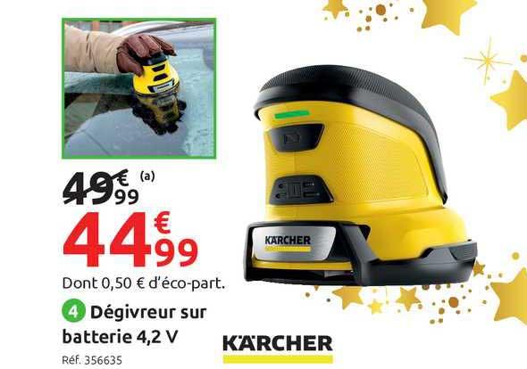 Mr Bricolage Dégivreur Sur Batterie 4,2v Kärcher